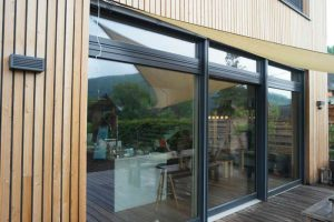 Fenêtre coulissante aluminium Les Menuisiers Girondins