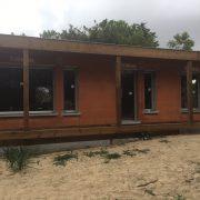 Les Menuisiers Girondins étaient présents à Soulac pour la pose de menuiseries sur une maison neuve. 3
