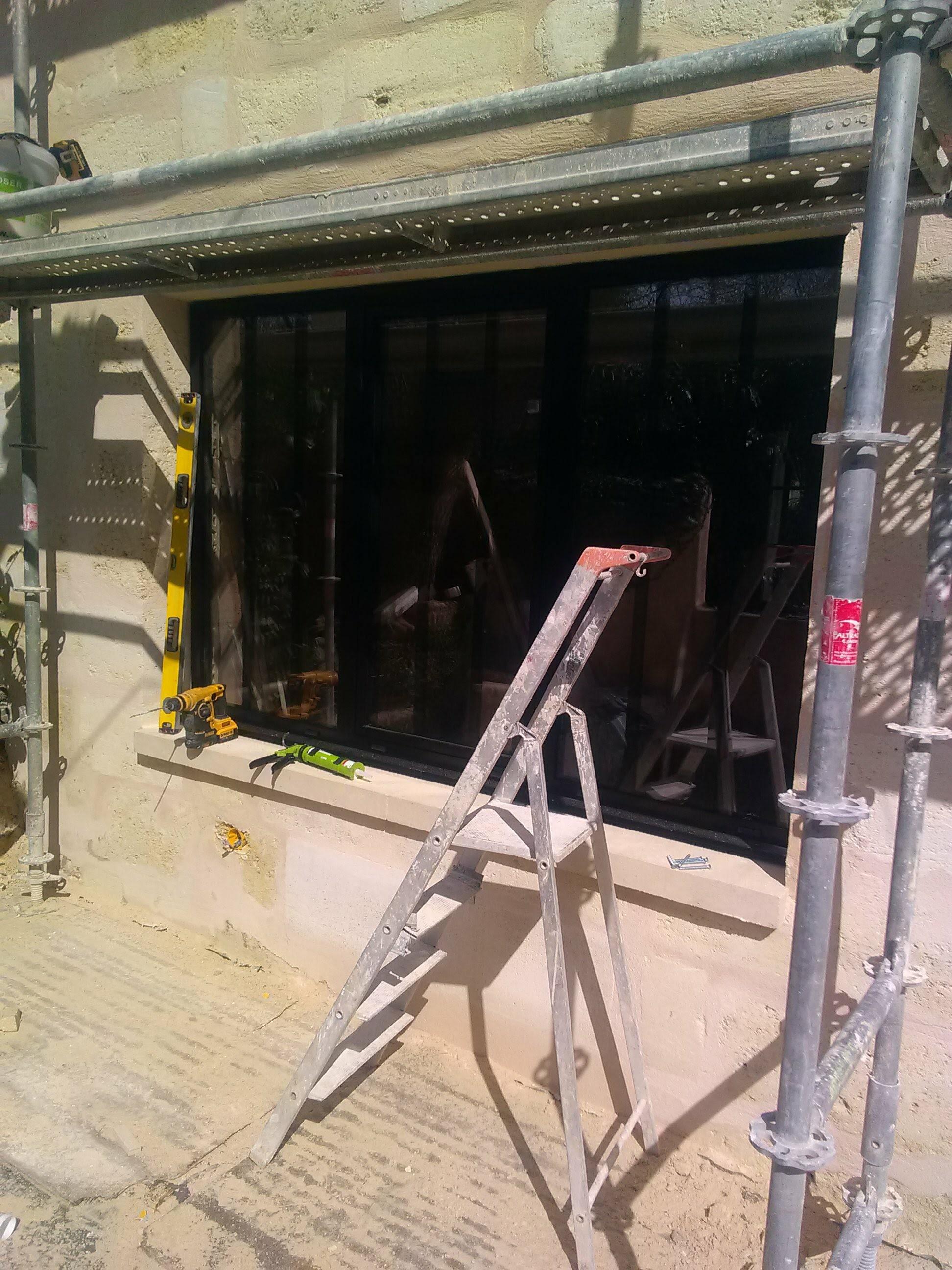 Les Menuisiers Girondins étaient au Cénac pour un chantier en neuf et rénovation - 5