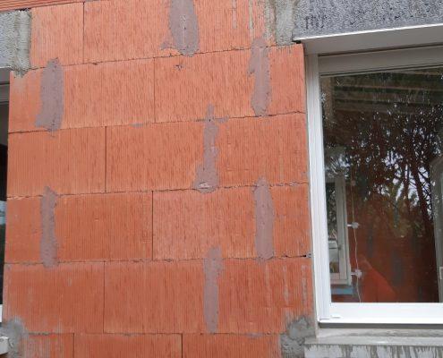 Les Menuisiers Girondins - Chantier à Villenave d'Ornon : Un agrandissement avec pose de baie vitrée.